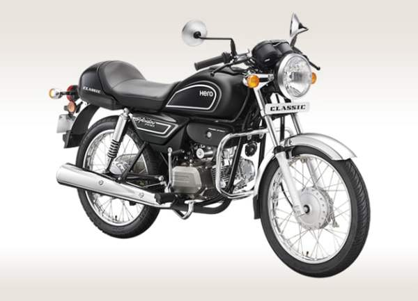 best mileage bike in india 2016 - splendor-pro-classic-black
