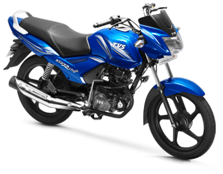best bike in india 2016 - tvs-star-city-plus-blue