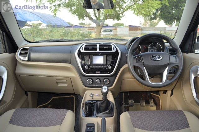 Mahindra TUV500 Launch, Price in India, Images, Specifications mahindra-tuv300-test-drive-review-black-dashboard