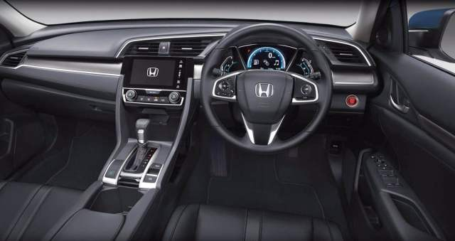 New 2017 Honda Civic India Launch, Price, Specifications 2016 honda civic thailand official images dashboard
