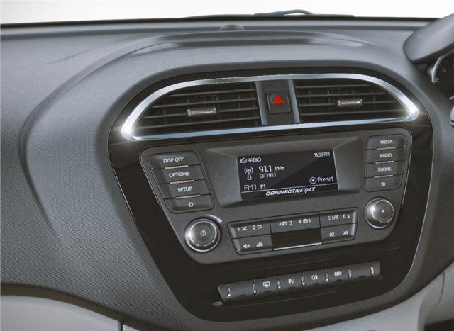 Tata Tiago vs Celerio vs i10 vs Beat vs Brio 2016-tata-zica-audio-system-official-images