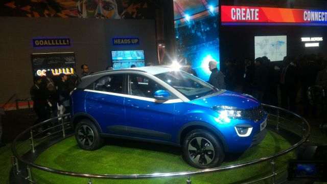 tata nexon price india auto-expo
