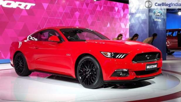 upcoming new car launches india 2016 ford-mustang-auto-expo-2016