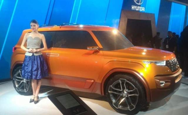 hyundai compact suv launch in india side photos