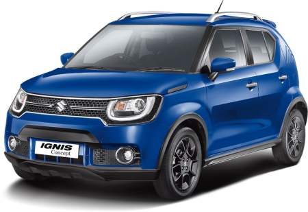 upcoming new car launches india 2016 Concept IGNIS (1)
