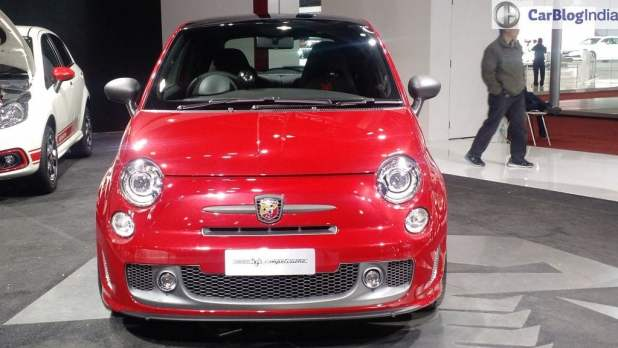 fiat-595 fiat cars at auto expo 2016