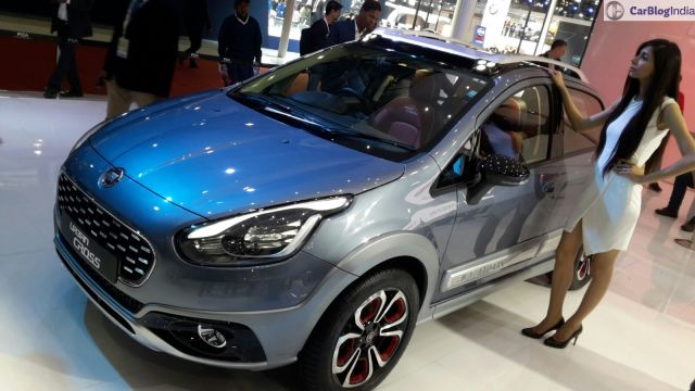 fiat urban cross auto expo images