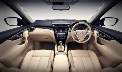 new nissan x-trail hybrid india review-interior-dashboard-official