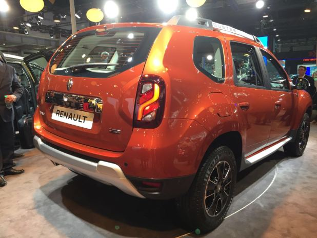 renault duster facelift india price specifications amt details. Black Bedroom Furniture Sets. Home Design Ideas