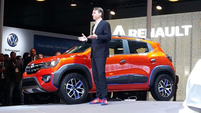 Renault Kwid Outsider Concept Unveiled at Sao Paulo, Brazil renault kwid climber photos 3