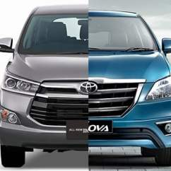 All New Kijang Innova G 2017 Harga Yaris Trd Sportivo Toyota Old Vs Crysta 2016 Comparison