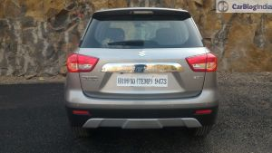 maruti vitara brezza review images rear