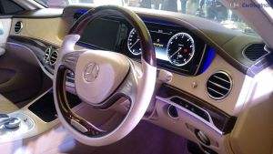 mercedes maybach s600 guard india launch steering