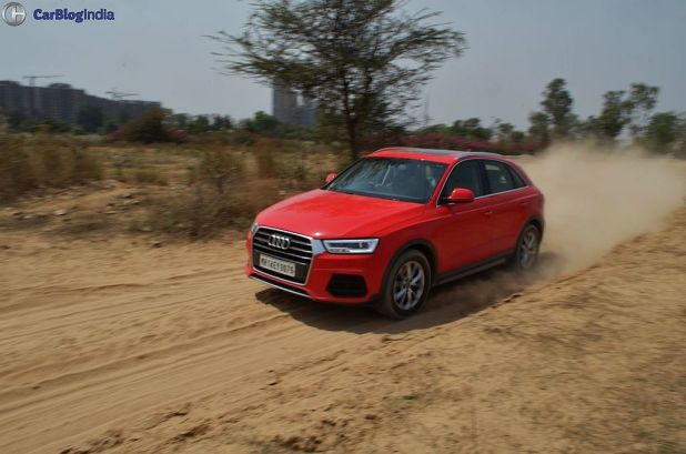 2015 audi q3 test drive review images action shot front side