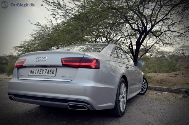 audi a6 matrix 35 tdi test drive review images taillights rear