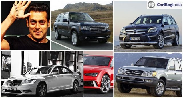 salman khan cars collection with images