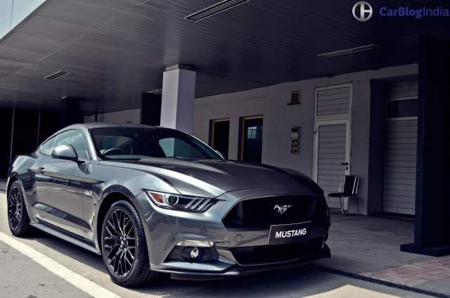 ford cars in india - ford mustang