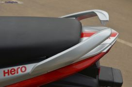 hero splendor ismart 110 test drive review-red-blue-front-angle