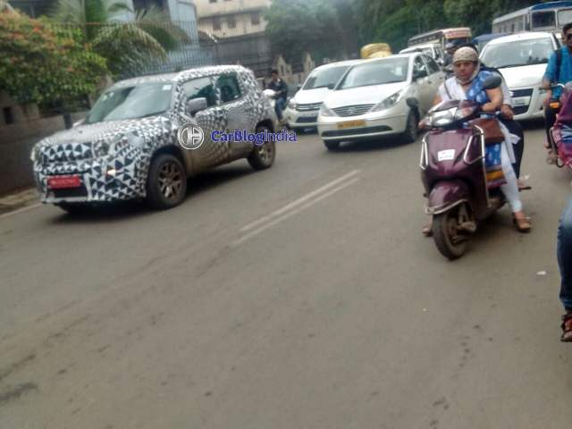 jeep renegade india spy images 2