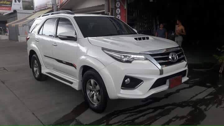 modified toyota fortuner from thailand