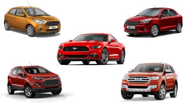 ford cars in india