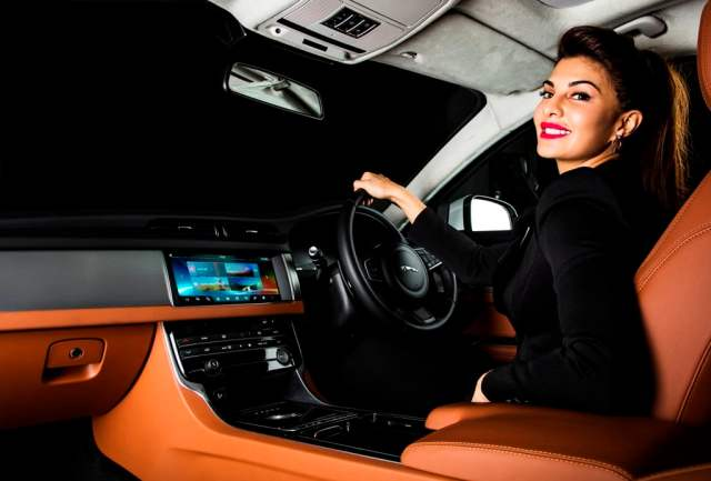 New 2016 Jaguar XF India Price - 49.50 lakh; Specificaitons, Features new-2016-jaguar-xf-india-official-images-interiors-Jacqueline-fernandes