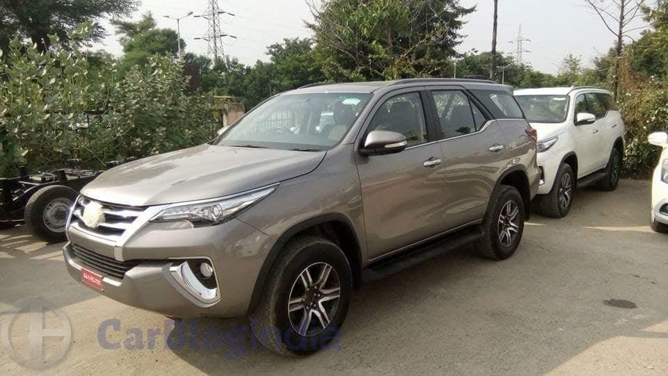 New Toyota Fortuner 2016 India Price In India Specifications Mileage Pics