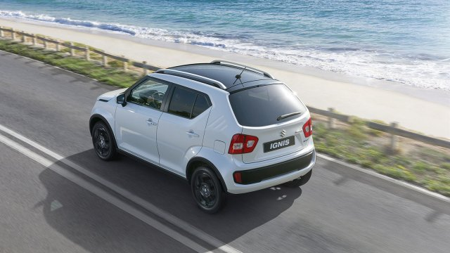 Maruti Ignis vs Ritz Comparison Price, Specs, Features, Design maruti-ignis-india-official-images-rear-side-top