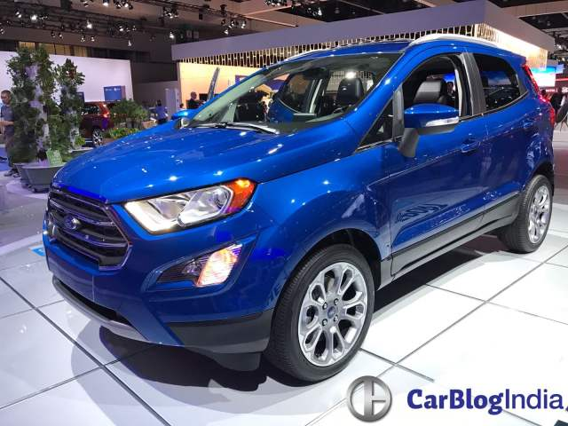 upcoming ford cars in india 2017 - ford ecosport los angeles auto show