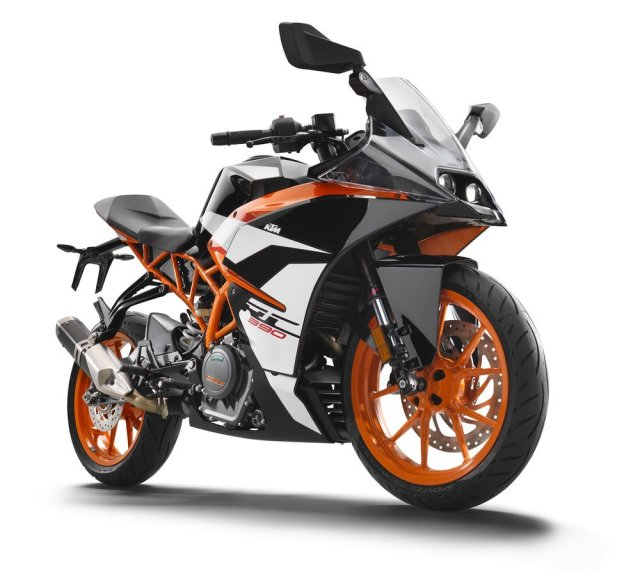 2017 KTM RC 390 India Launch, Price, Images, Specification 2017-ktm-rc-390-official-image-front-side-low-angle