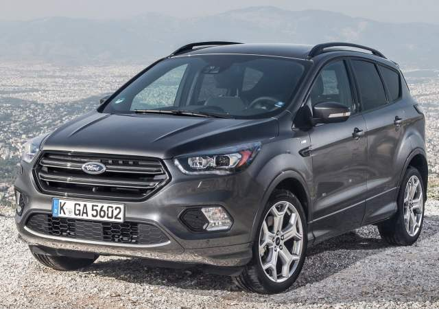 ford kuga india images front angle wallpaper