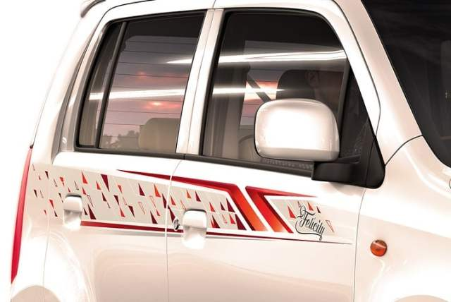 Maruti Wagon R Felicity Limited Edition Price Rs. 4.40 lakh; Features maruti-wagon-r-felicity-limited-edition-body-graphics