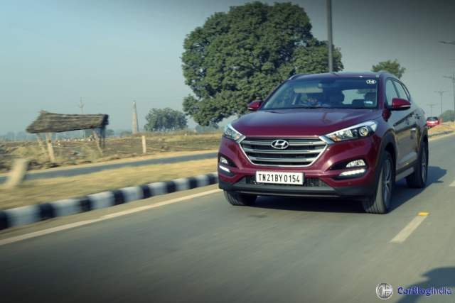 new hyundai tucson test drive review images action shot 3