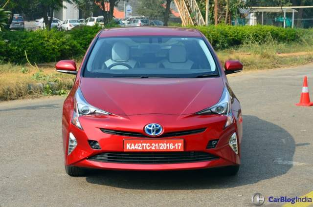 New Toyota Prius India Launch in January 2018; Price 40 lakhs new-toyota-prius-test-drive-review-india-9