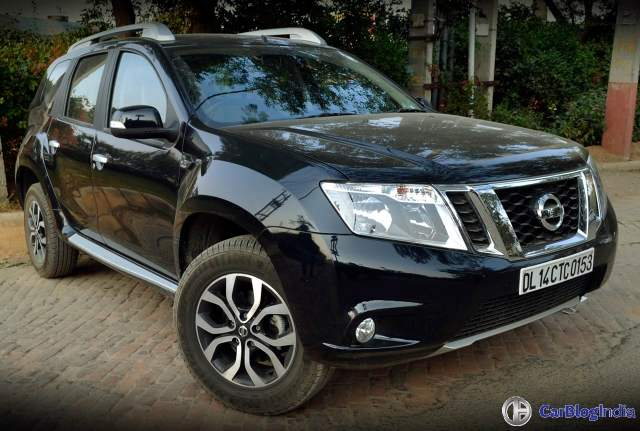 nissan terrano amt test drive review images