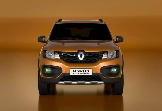 Upcoming New Renault Cars in India renault-kwid-outsider-concept-official-front