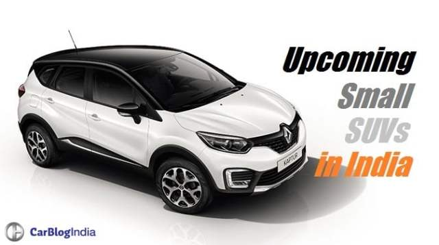 Upcoming Small SUVs in India 2017 - 2018