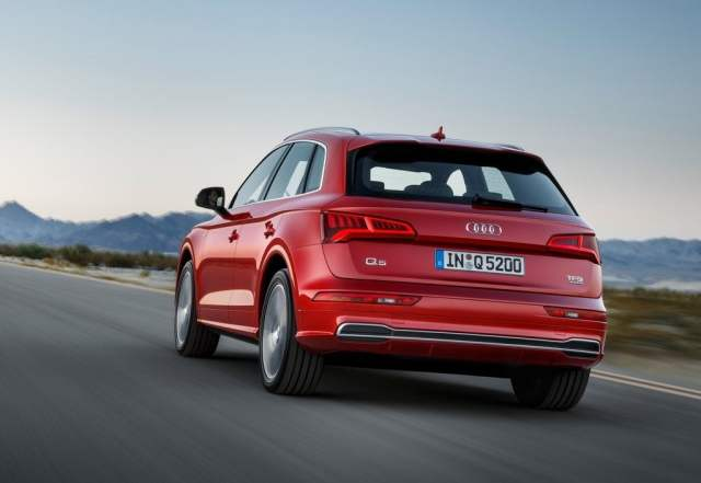 2017 audi q5 india official images rear
