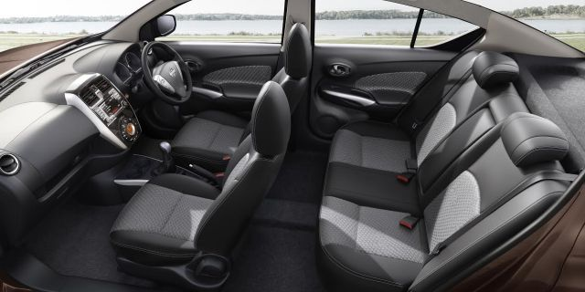 2017 nissan sunny official image interiors