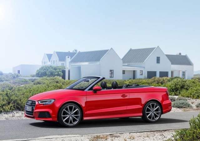 2017 Audi A3 Cabriolet India official image