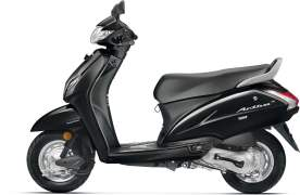 2017 honda activa 4g colours black