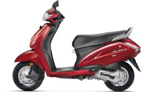 2017 honda activa 4g colours lusty red