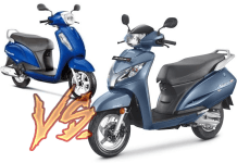 2017 suzuki access 125 vs honda active 125