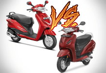 honda activa vs hero duet comparison