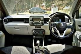 maruti ignis amt petrol review images interior