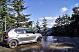 maruti ignis amt petrol review-images-rear angle