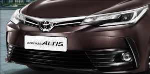 new toyota corolla altis 2017 official images led headlamp