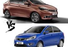 tata tigor vs tata zest comparison