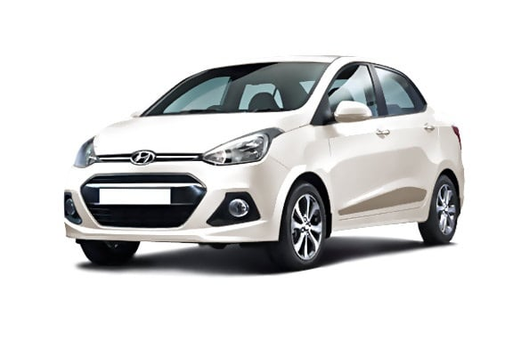Hyundai xcent prime price specifications mileage for Hyundai xcent exterior