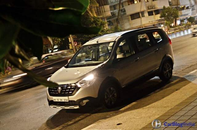 renault lodgy stepway test drive review